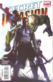 Secret Invasion #4 Marvel comic book